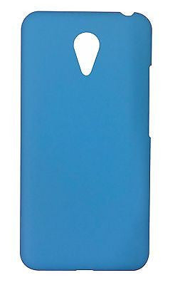 Rubberised Hard Plastic Case Cover for Meizu M2 Note  - Blue