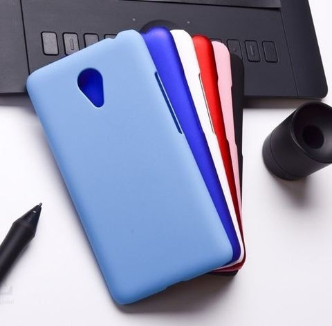 For Meizu M2 Note (5.5 inch Screen) Rubberised Hard Shell Case Back Cover