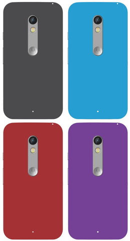 For Moto X Play Frosted Matte Hard Case Back Cover