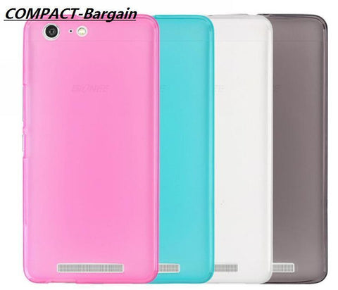 For Gionee Marathon M5 Matte Pudding Soft TPU Silicon Case Cover