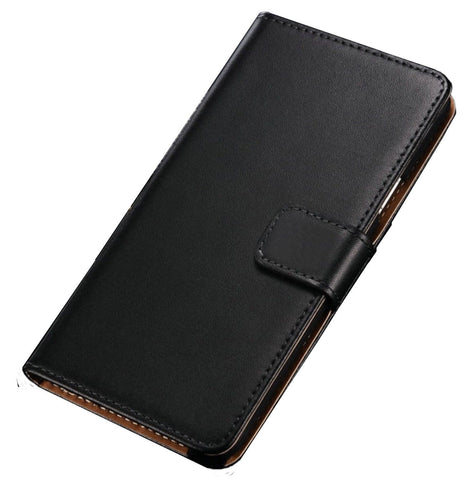 For Huawei Honor 7 Genuine Leather Premium Flip Cover Wallet Case