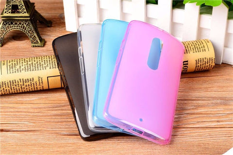 For Moto X Play Matte Pudding Soft TPU Silicon Case Cover