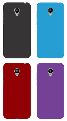 For Meizu MX5 Rubberised Hard Shell Case Back Cover