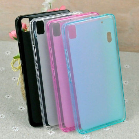For Lenovo K3 Note Pudding Soft TPU Silicon Case Cover