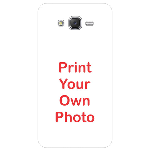 For Samsung Galaxy J7 (2015) Hard Matte Back Cover Print Your Own Custom Case