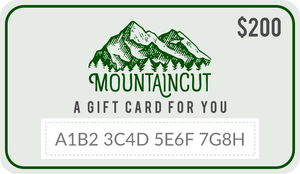 MountainCut Gift Card - MountainCut