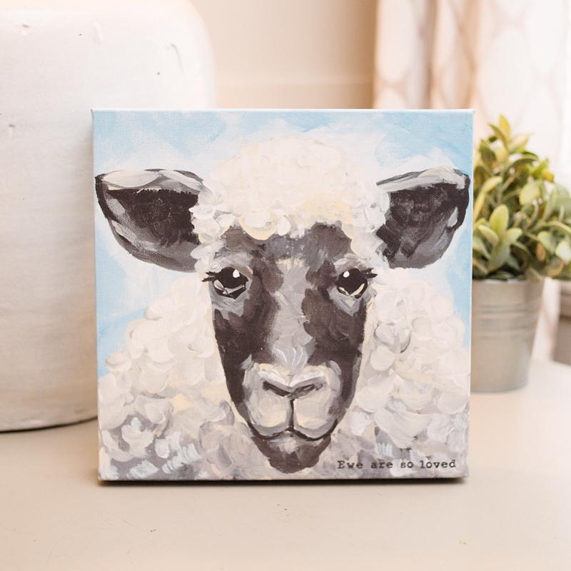 Ewe are So Loved Canvas
