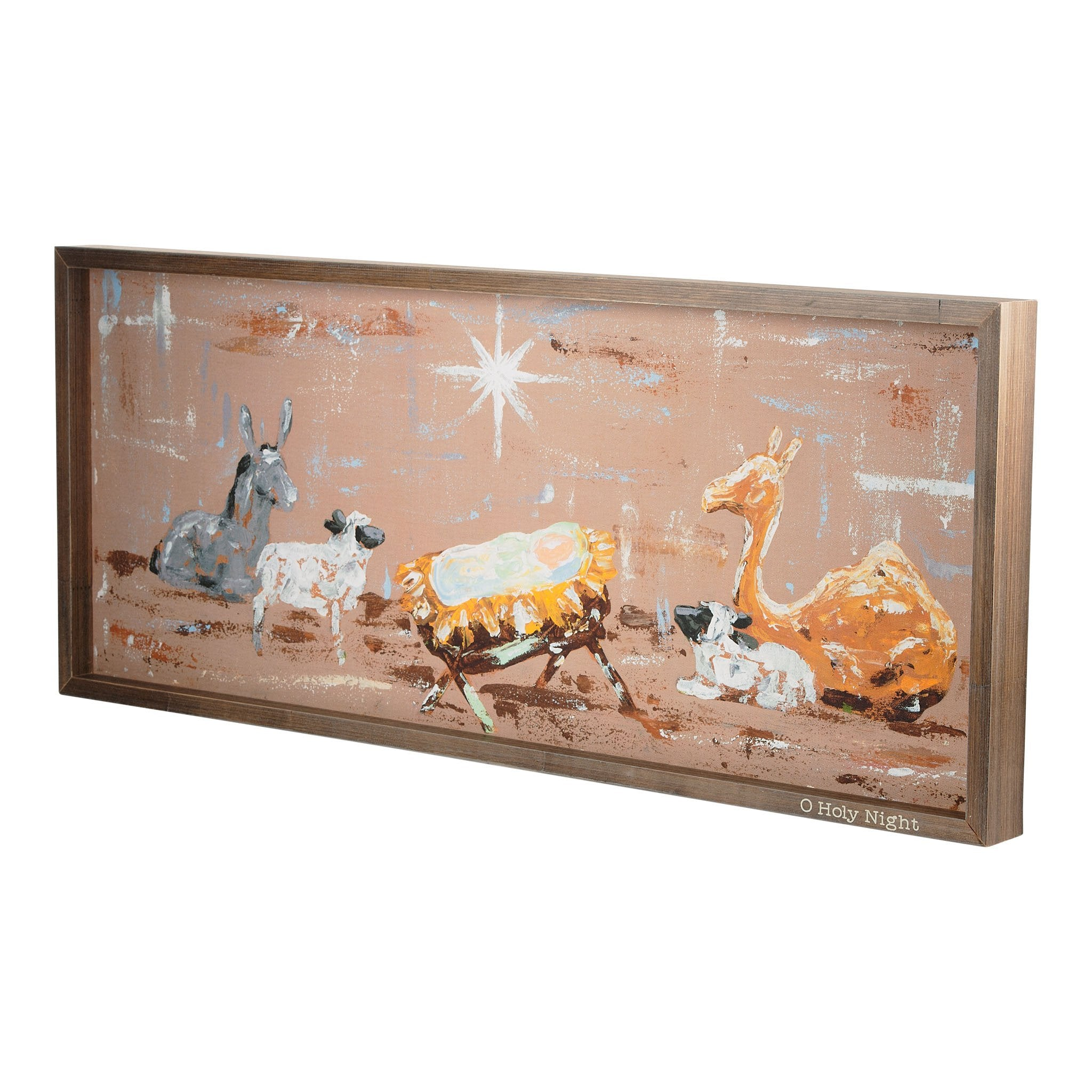 O Holy Night Framed Canvas