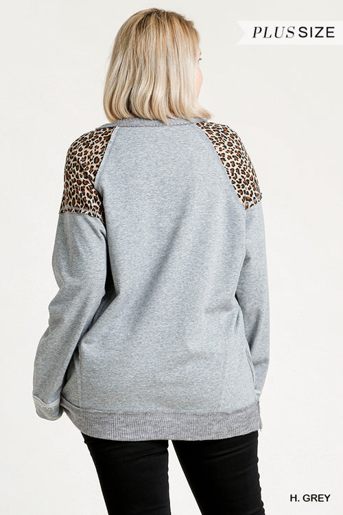 Umgee Leopard Plus Top