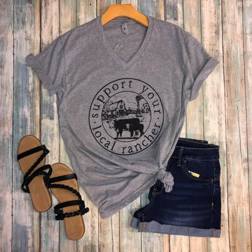 Local Rancher Tee