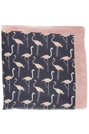 Flamingo Print Neckerchief