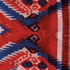 Aztec Red/Blue Wildrag