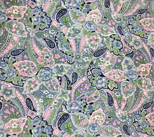Paisley Blue Calico Wildrag