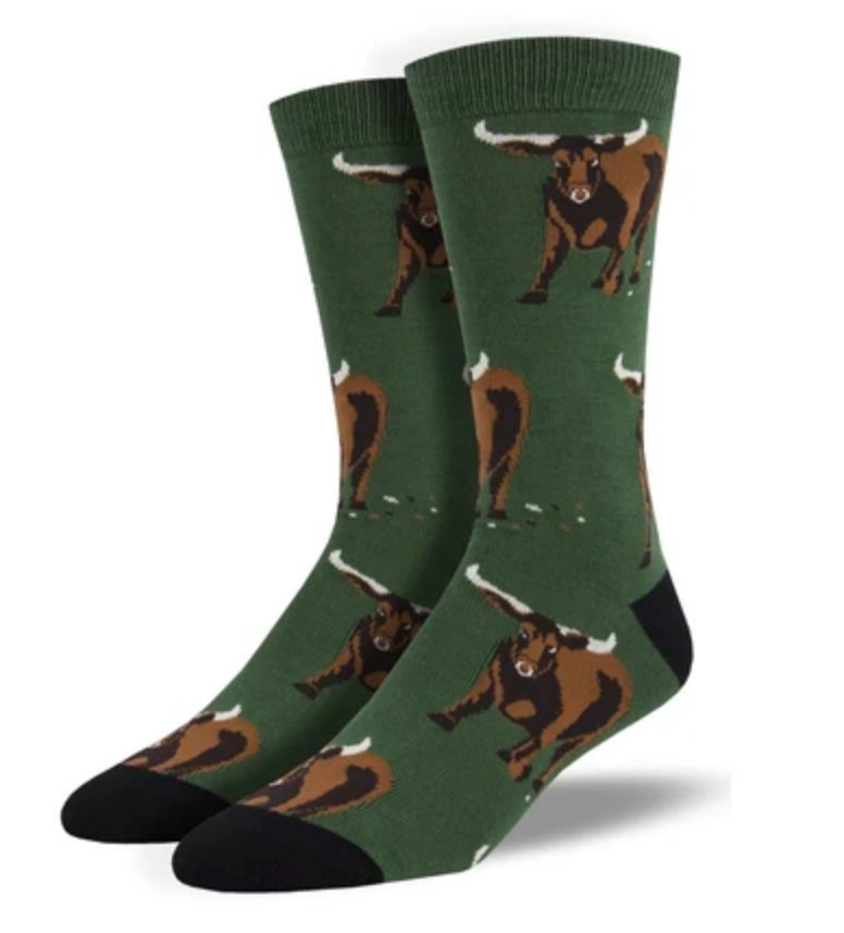 Bull by the Horns Socks
