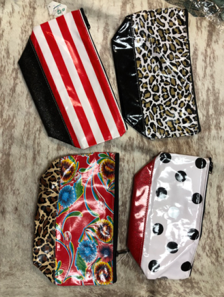 Big Double Fabric Pouches