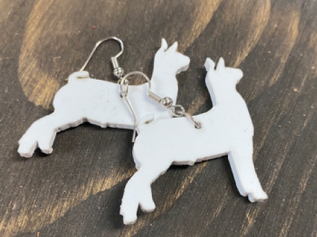 Small Goat Earrings