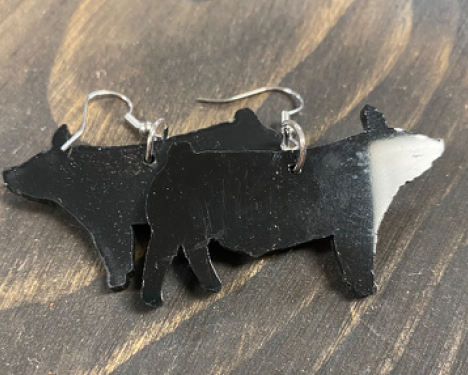 Big Pig Earrings