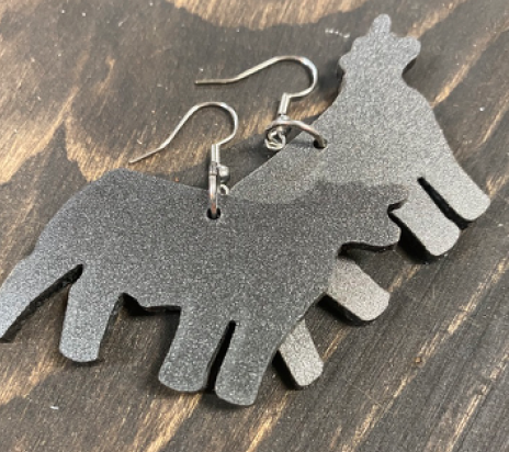 Big Cattle Earrings