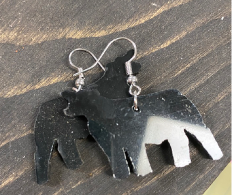 Small Cattle Earrings