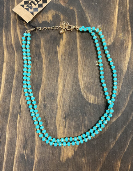 Double Strand Chocker Necklace