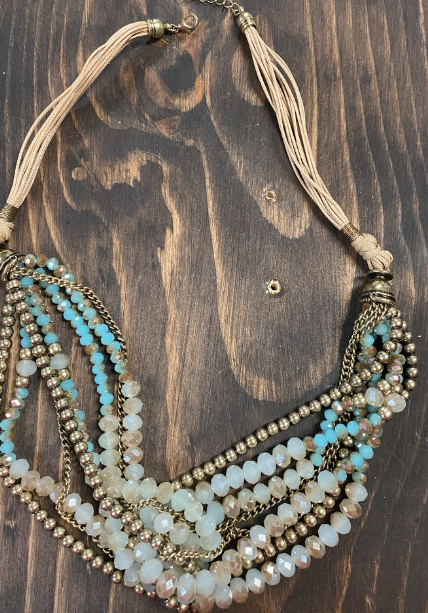 Turquoise and Natural Necklace