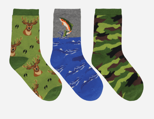 The Great Outdoors Kids Socks