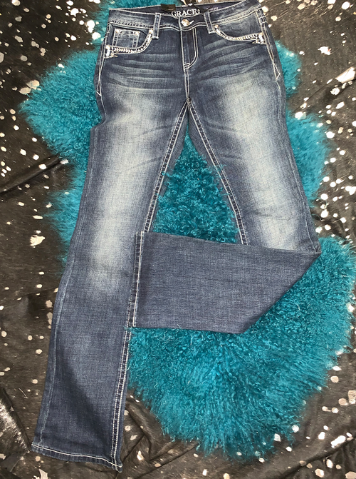 Blingy Bootcut Jeans