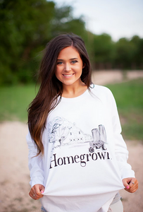 Comfort Colors Long Sleeve Homegrown