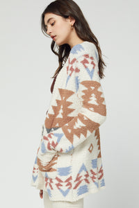 Aztec Snuggle Sweater