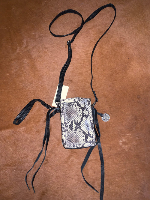 #20 Snakeprint Crossbody