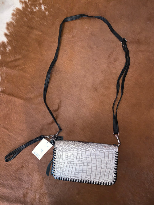 #19 Croc Wallet Crossbody