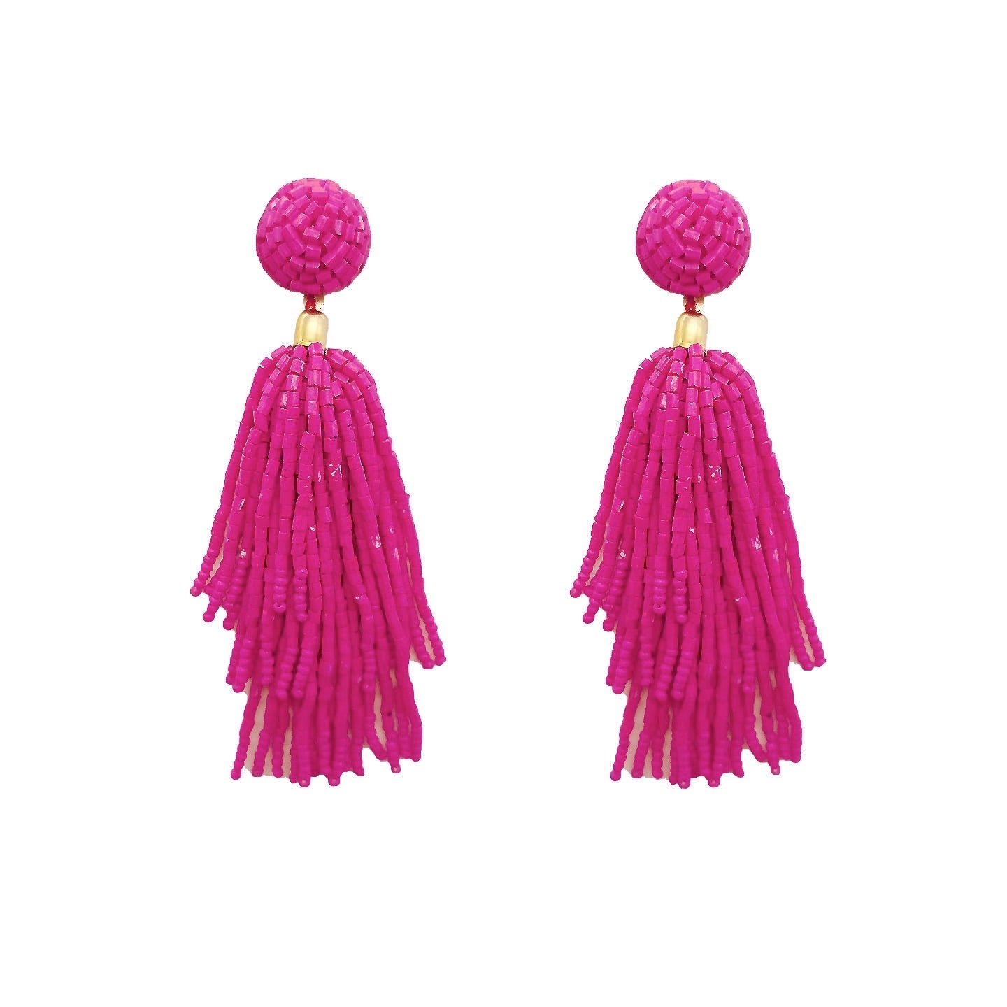 Sassy Classy Tassel Earrings