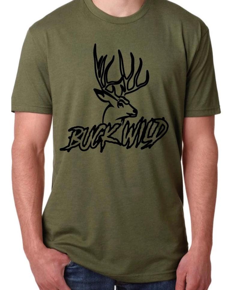 Buck Wild T-Shirts (assorted colors )