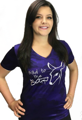 Dirty Doe Dry Fit Purple Camo Shirt - Dirty Doe & Buck Wild ,hunting apparel,camo,girls that hunt,huntress, buck wild,deer shirts,buck shirts,country shirt,country girl shirts, amazon,cabelas,bass pro shop,sportmans,