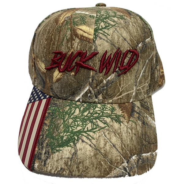 "Buck Wild 'Merica"" Hat - Dirty Doe & Buck Wild ,hunting apparel,camo,girls that hunt,huntress, buck wild,deer shirts,buck shirts,country shirt,country girl shirts, amazon,cabelas,bass pro shop,sportmans,"