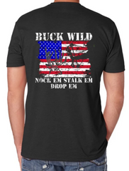 Buckwild Nock Em Stalk em Drop em - Dirty Doe & Buck Wild ,hunting apparel,camo,girls that hunt,huntress, buck wild,deer shirts,buck shirts,country shirt,country girl shirts, amazon,cabelas,bass pro shop,sportmans,