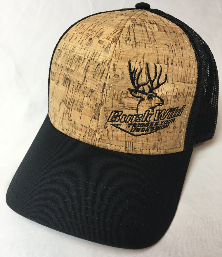 Buck Wild Cork Snap Back Hat