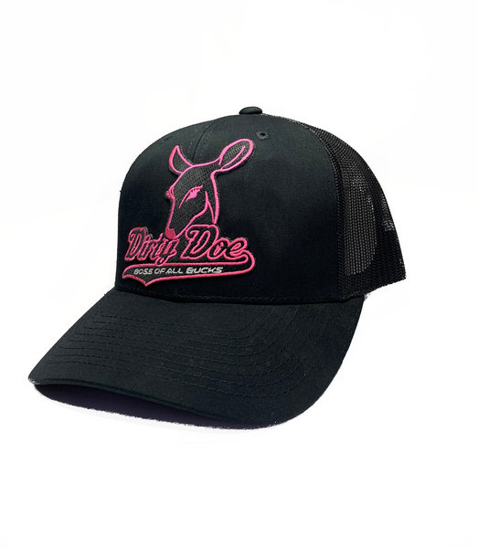 "Dirty Doe ""Pink Dust ""  Patch Snapback Hat - Dirty Doe & Buck Wild"