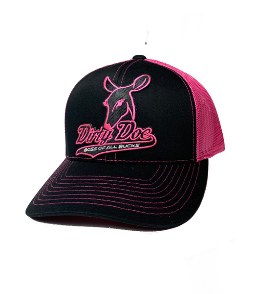 "Dirty Doe "" Midnight Pink"" Snapback"