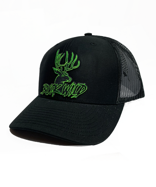 "Buckwild "" dusk  "" Pre-curved Snapback Patch Hat"