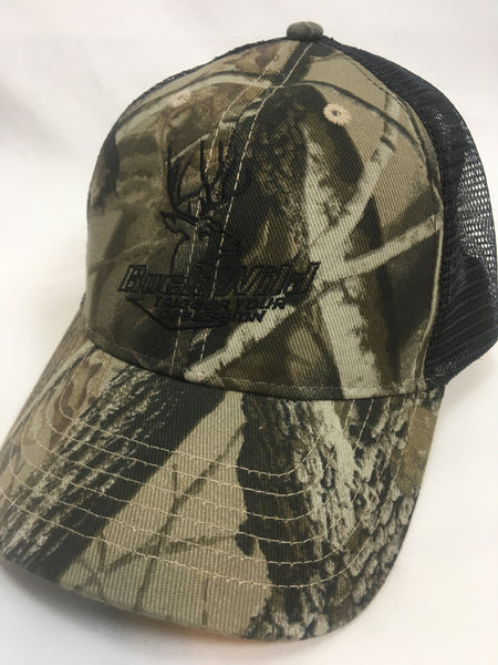 Buck Wild Camo With Black Mesh Hat - Dirty Doe & Buck Wild ,hunting apparel,camo,girls that hunt,huntress, buck wild,deer shirts,buck shirts,country shirt,country girl shirts, amazon,cabelas,bass pro shop,sportmans,