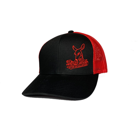 "Dirty Doe "" Fire Red"" Hat"