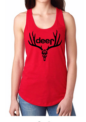 "Dirty Doe ""Jeep"" Racer Back Tank Top - Dirty Doe & Buck Wild"