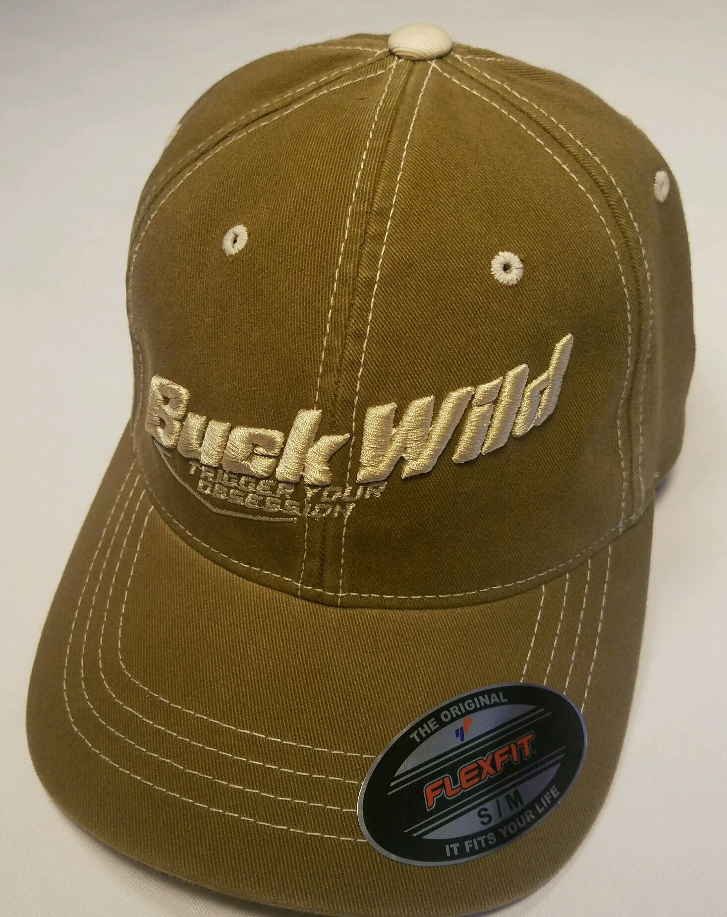 Buck Wild Flex Fit Hat (PUFF) - Dirty Doe & Buck Wild ,hunting apparel,camo,girls that hunt,huntress, buck wild,deer shirts,buck shirts,country shirt,country girl shirts, amazon,cabelas,bass pro shop,sportmans,