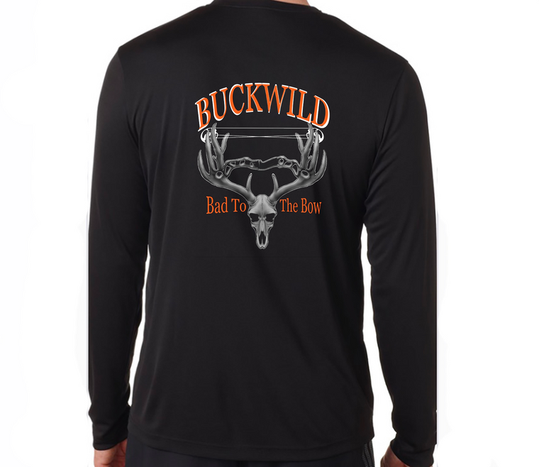 Bad To The Bow Buckwild Long Sleeve T-shirt