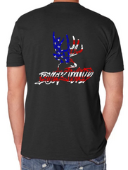 Buckwild Patriotic Shirt - Dirty Doe & Buck Wild ,hunting apparel,camo,girls that hunt,huntress, buck wild,deer shirts,buck shirts,country shirt,country girl shirts, amazon,cabelas,bass pro shop,sportmans,
