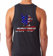 Buckwild Patriotic Tank Top - Dirty Doe & Buck Wild