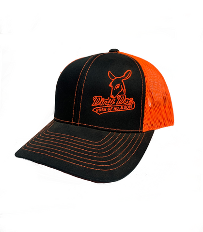 "Dirty Doe Boss ""Sunset"" Snapback Hat"