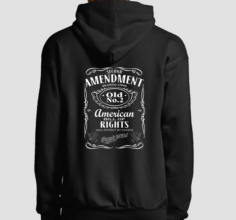 Second Amendment Buckwild Hoodie