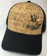 Buck Wild Cork Snap Back Hat - Dirty Doe & Buck Wild